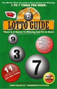 Winners Only Lottery Book Green