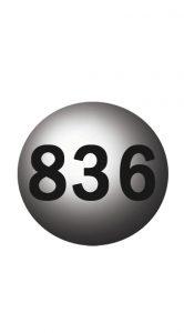 WOL - 836 LOTTO BALL