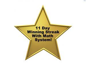 WOL 11 Day Winning Streak