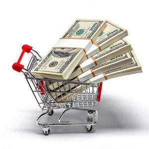 WOL Shopping Cart of Money