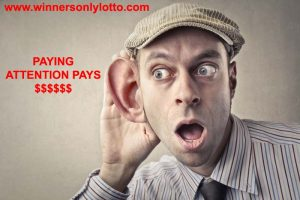 PAYING ATTENTION PAYS