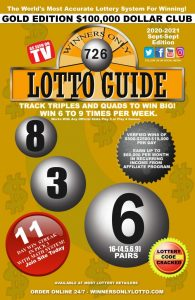Winners Only Lotto Book